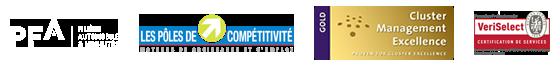 Les Pôles de compétitivités - Label GOLD Cluster Management Excellence - Certifications de services Veriselect pour la formation professionnnelle
